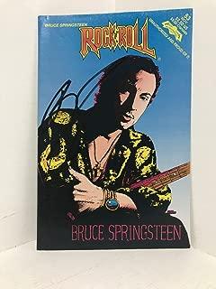 Rare Bruce Springsteen Autographed Signed Memorabilia Vtg Nov 1992 Rock N Roll Comic Book 53- JSA COA