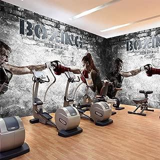 gym room wallpaper