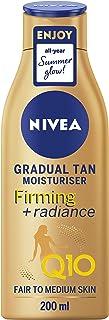 NIVEA Q10 Firming with Radiance Gradual Tan (200ml), Tan