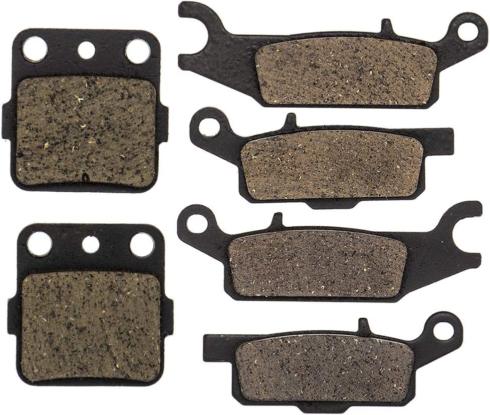 security NICHE Brake Pad Kit Max 78% OFF for 4D3-W0045 Yamaha 250 Raptor 4D3-W0046-50