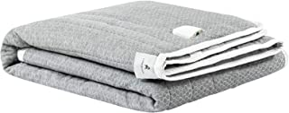 LANEROSSI - Protector de colchón eléctrico Sonno Sereno, para cama de matrimonio, 150 x 200 cm, gris.