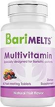BariMelts Multivitamin, Dissolvable Bariatric Vitamins, Natural Fruit Flavor, 60 Fast Melting Tablets