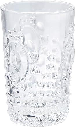 Conjunto 6 Copos de Vidro Olimpo Lyor Transparente 350Ml