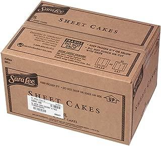 Sara Lee Iced Coconut Sheet Cake, 12 x 16 inch -- 4 per case.