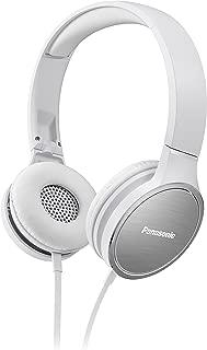 Panasonic 松下 RP-HF500ME-K 入耳式耳机(9-25000Hz,40毫米转换器,耳罩带铝表面,软垫头带)RP-HF500ME-W