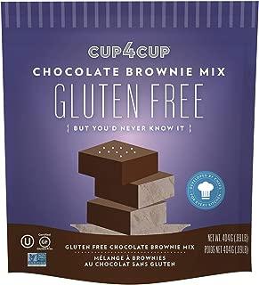 CUP4CUP GLUTE BROWNIE MIX,CHOCOLATE,GF - 14.25 OZ - CS x6