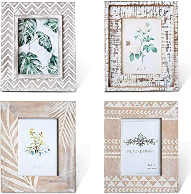 Amazon Com Fashioncraft 82348 Wooden Frame Collage 8 Opening Photo Frame 17 75 X 17 75 Rustic Wood Collage Picture Frame Party Wedding Favor Anniversary Favor 1 Piece Home Kitchen