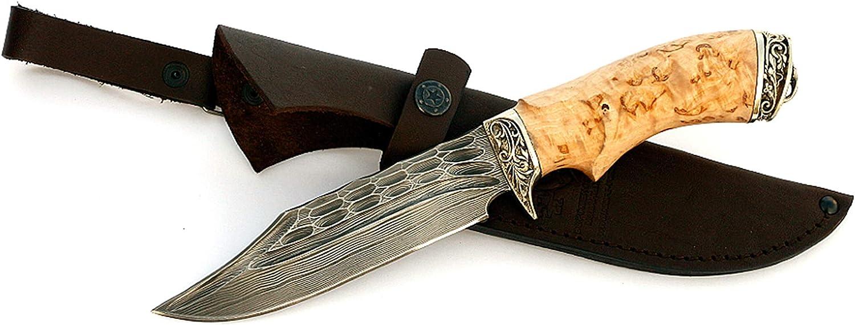 Sedov Russian Knife Damascus XB5 D5 ELMAX Diamond Steel Tactical Hunting Type №9