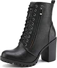 DREAM PAIRS Women's Chunky Heel Ankle Booties