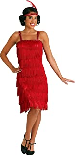 Miss Millie Red Flapper Costume Large