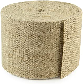 Cleverbrand Jute Webbing, 3.25 Inches x 8 Yards - Natural