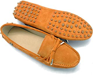 Miyoopark Womens Casual Suede Loafers Driving Shoes Penny Moccasins Flats