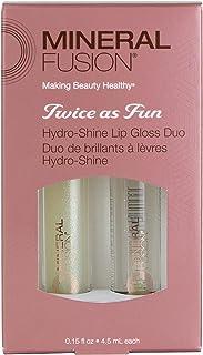 Mineral Fusion Twice As Fun, Hydro-Shine Lip Gloss Duo