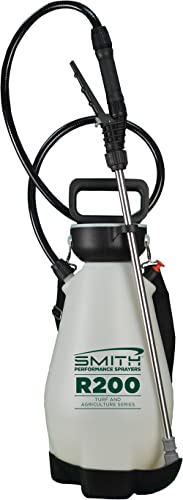 Smith Performance Sprayers R200 2-Gallon Compression Sprayer for Pros Applying Weed Killers, Insecticides, and Fertil...