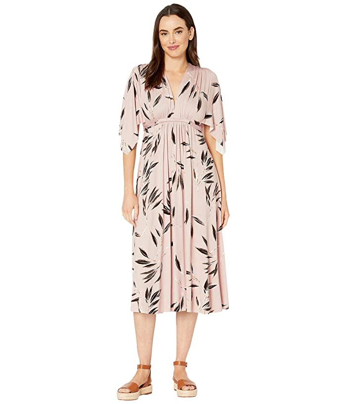 Rachel Pally Mid-Length Caftan Dress (Cane) Women's Dress