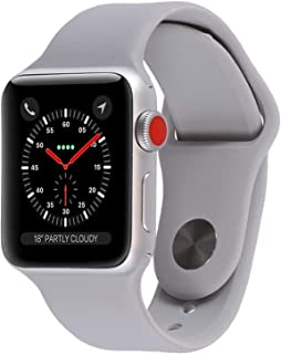 Apple Watch Series 3 (GPS + Cellular, 42MM) - Silver...