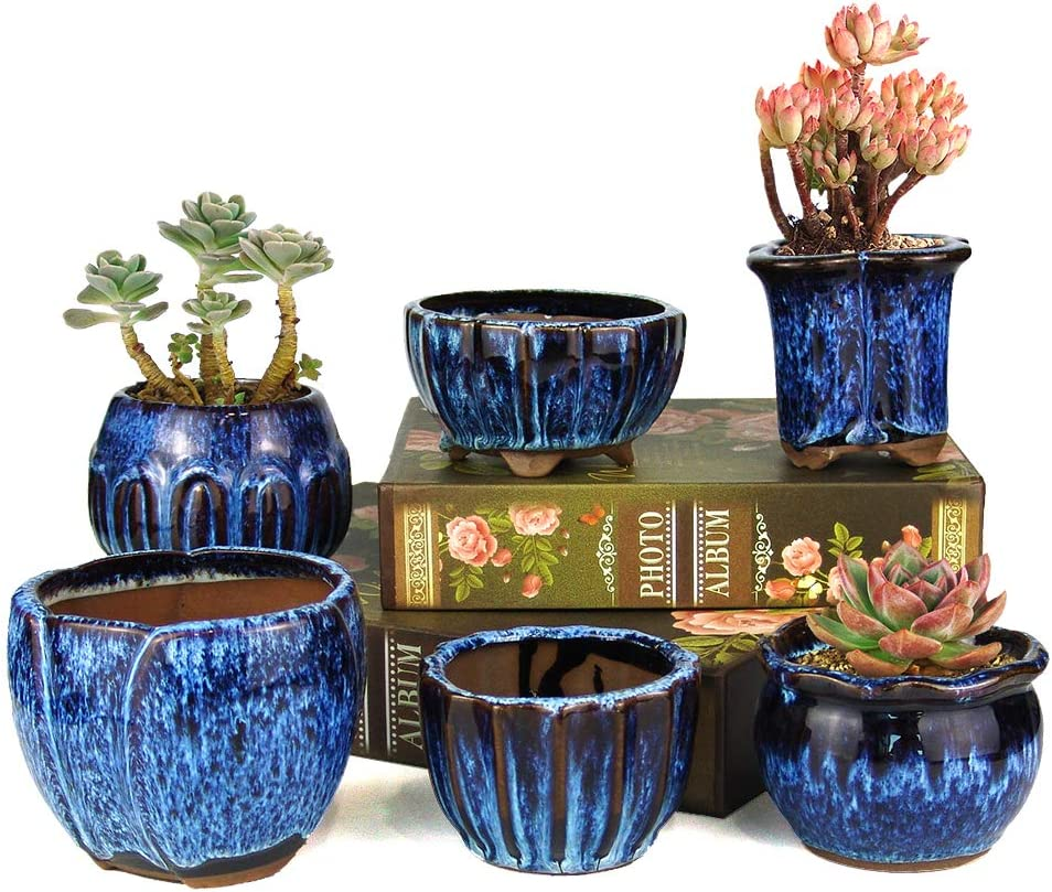 Summer Impressions Max 71% OFF 3 Inch 4 Glazed Terracotta and 1 year warranty 4.5