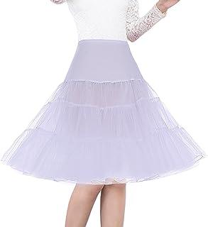 "Shimaly Women's 50s Vintage Petticoat 26"" Crinoline Rockabilly Tutu Skirt Slip S-3XL"