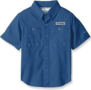 Columbia Youth Boys PFG Tamiami Short Sleeve Shirt, UPF Protection, Moisture-Wicking