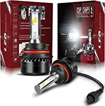 TURBOSII DOT Approved 9004 HB1 LED Headlight Bulbs CSP Chips Hi/Lo Beam 6000LM 6500K Cool White - All In One Plug n Play Conversion Kit For Ford Toyota Honda Isuzu Jeep Suzuki Nissan Chevy Dodge Ram