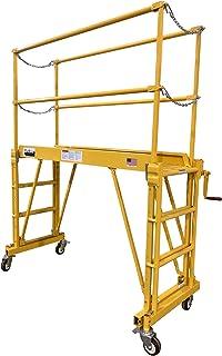 Tele-Tower 1101-610 Work Platform, Yellow