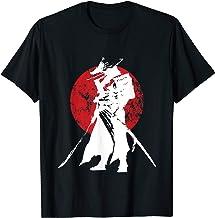 Samurai Warrior Sword Retro Japanese & T-Shirt Design