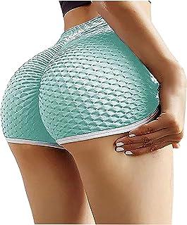 YOYHX Women's Butt Lifting Leggings High Waisted Honeycomb Bubble Tummy Control Yoga Pant Workout Leggings Fitness Anti Ce...