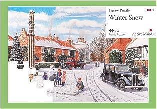 Active Minds 35 Piece Winter Snow Jigsaw Puzzle   Specialist Alzheimer's / Dementia Activities & Games