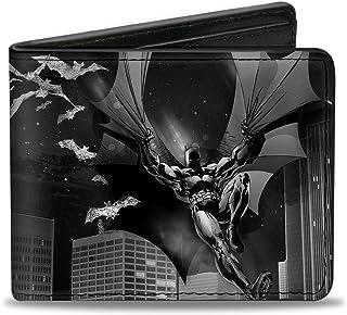 """Buckle-Down Buckle-Down Bifold Wallet Batman Accessory, Batman, 4.0"""" x 3.5"""""""