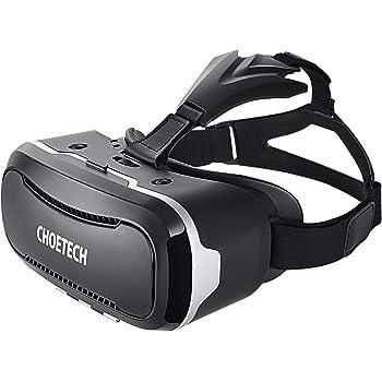 3D VR ゴーグル CHOETECH VR メガネ iPhone/Android/スマホ 3D ヘッドセット 超3D映像効果 仮想現実 映画/ゲームを楽しめる 他3.5~6インチスマートフォン対応