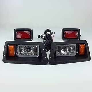 NEW RecPro YAMAHA G14-G22 GOLF CART HALOGEN LIGHT KIT w/ LED TAIL LIGHT