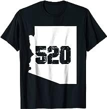 Tucson Arizona 520 Area Code T-Shirt