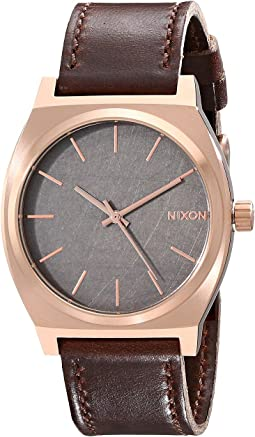 Nixon Time Teller Leather