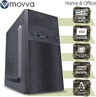 COMPUTADOR HYDRO INTEL I3 6100 3.7GHZ 6ª GER. MEM. 4GB DDR3 SSD 240GB HDMI/VGA FONTE 200W LINUX - MVHYI3H110D3S2404 - MOVVA