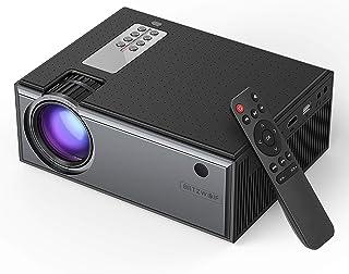 Blitzwolf Portable Mini 1080P HD LCD Home Cinema Projector + Speaker + Remote BW-VP1