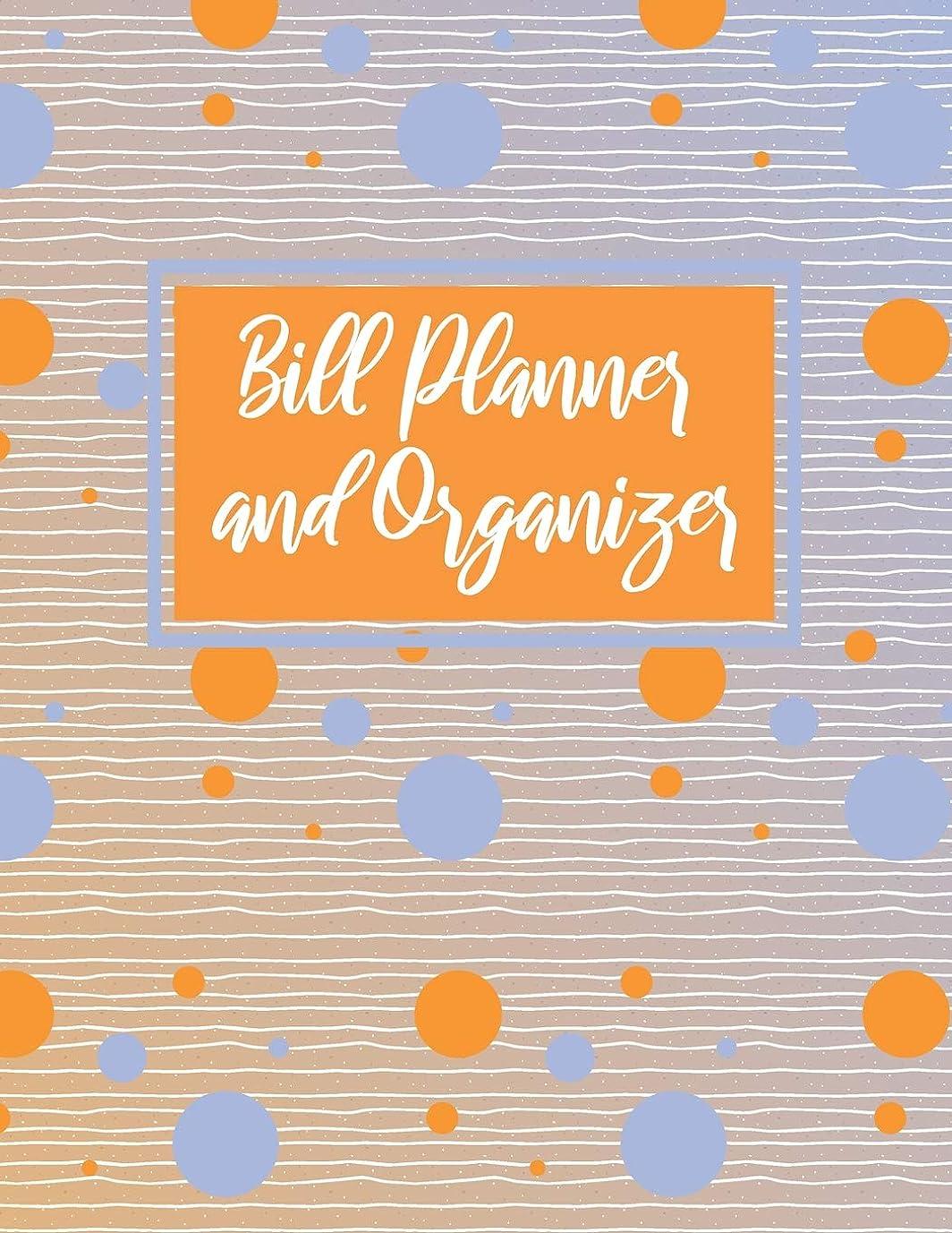 闇アルファベット出力Bill Planner And Organizer: Personal Finances Calendar Log Book