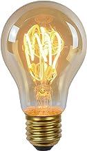 Lucide LED BULB TWILIGHT SENSOR - Filament lamp Buiten - Ø 6 cm - LED - E27 - 1x4W 2200K - Amber