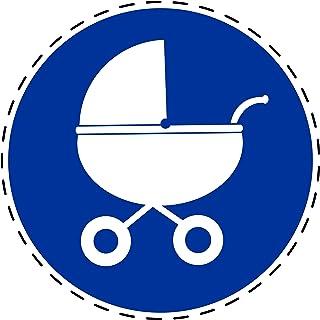 Meiyya Kinderwagen Kinderwagen Griff Stoff Sto/ßstange Griffabdeckung Blau