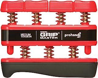 PROHANDS Gripmaster Hand Exerciser, Finger Exerciser (Hand Grip Strengthener), Spring-Loaded, Finger-Piston System, Isolat...