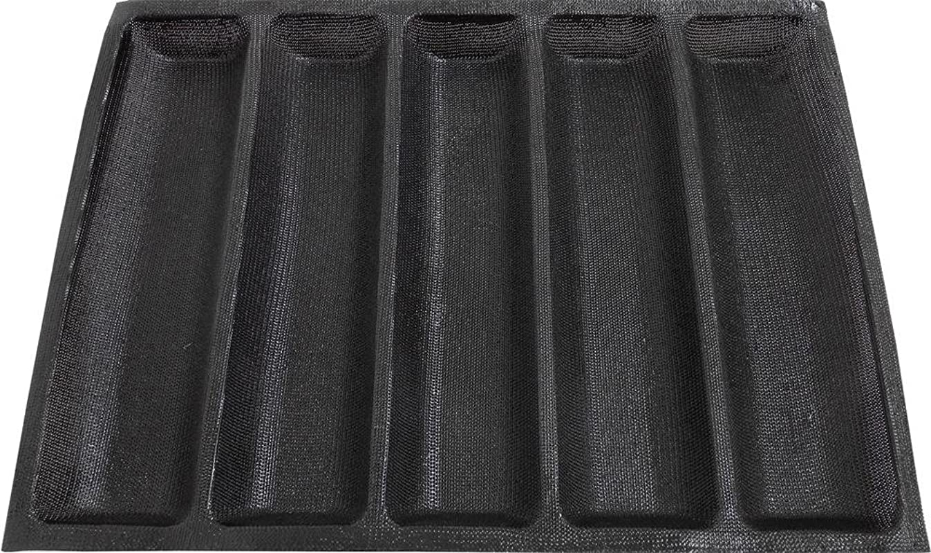 Silicone Non Stick Baking Liners Mat Bread Mold Subway Bread Mould 5 Loaf Bread Form 450340mm 17 72 X13 39 By Simake