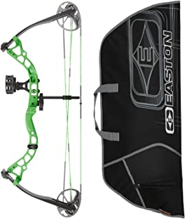 Diamond Atomic Compound Bow & Easton Soft Case, Green, Right Hand
