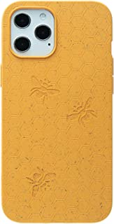 Pela: Phone Case for iPhone 12, 6.7 inch Screen - 100% Compostable and Biodegradable - Eco-Friendly - Made from Plants (Cl...