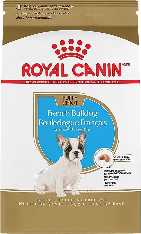 Amazon Com Royal Canin French Bulldog Cachorro Raza Específica Comida Seca Para Perros 3 Libras Bolsa Mascotas