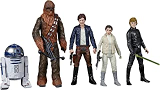 Star Wars Celebrate the Saga Toys Rebel Alliance Figure Set, 3.75-Inch-Scale Collectible Action Figure 5-Pack (Amazon Excl...