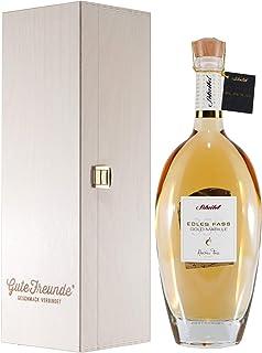 Scheibel EDLES FASS 350 Gold Marillenbrand mit Geschenk-Holzkiste