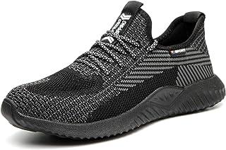 Lightweight Safety Shoes Men Women Work Trainers Steel Toe Caps Sport Sneakers