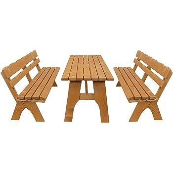 : GASPO Gartenmöbel Set Kitzbühel   Tisch & Zwei