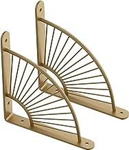 2 stks Craft Bracket Plank Metaal, Wandmontage Bloemen Joint Right Angle Bracket ijzeren muur opknoping decoratie, hardwar...