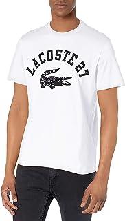 Lacoste Men's Short Sleeve 27 Graphic T-Shirt