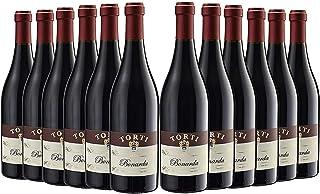 Bonarda DOC OP Vivace caso de 12 Vino tinto italiano - Uva croata - Finca ganadora del premio Torti Wine